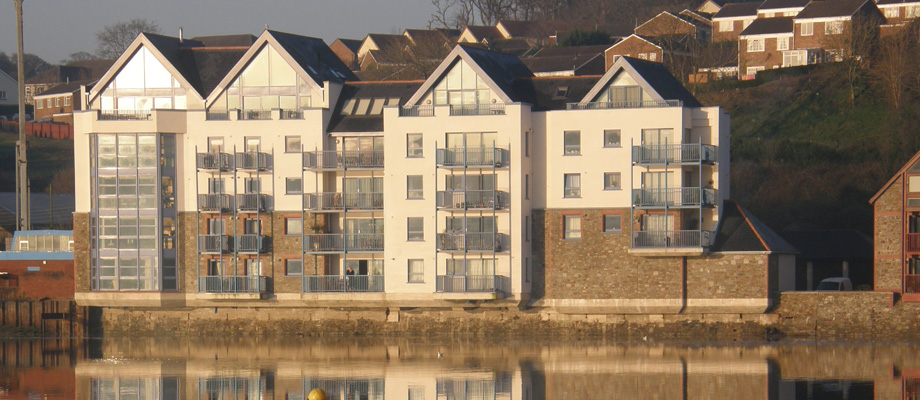 Longbridge Wharf Luxury Apartments, Fearnley Lott Architects North Devon